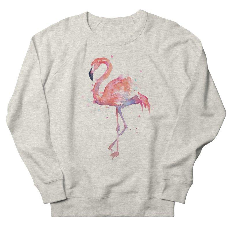 Flamingo Women's Sweatshirt by Art by Olga Shvartsur