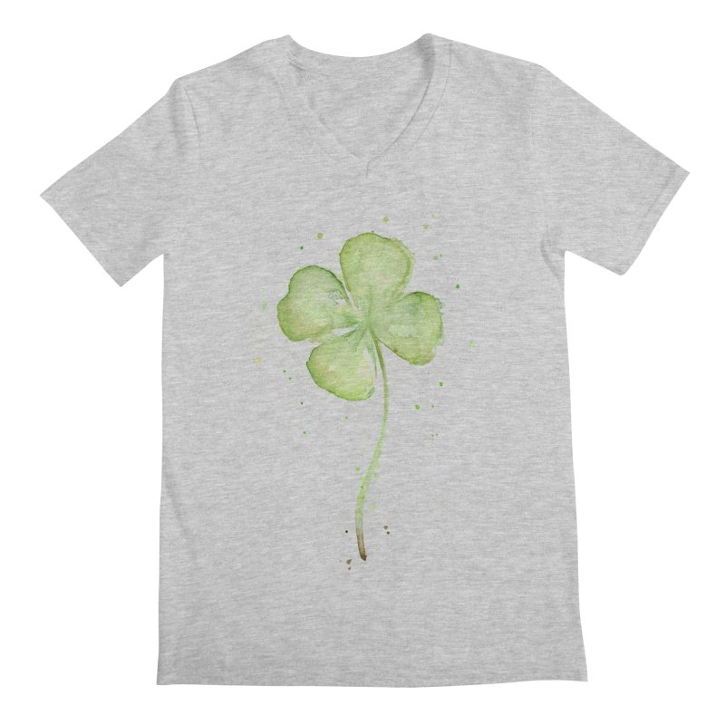 Lucky Charm - Four Leaf Clover   by Art by Olga Shvartsur
