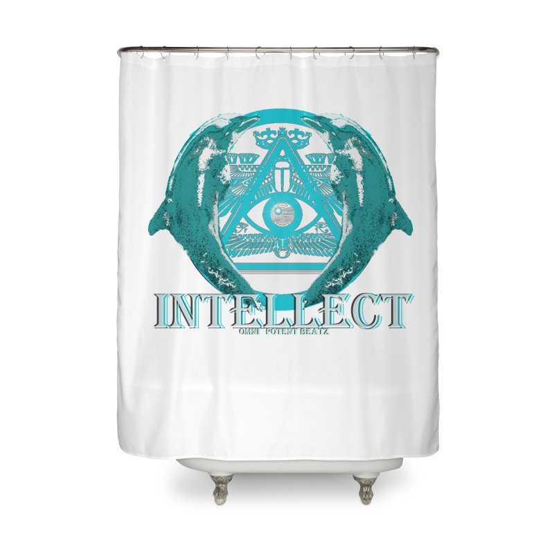 The Intelligent in Shower Curtain by OmniPotentBeatz's Shop