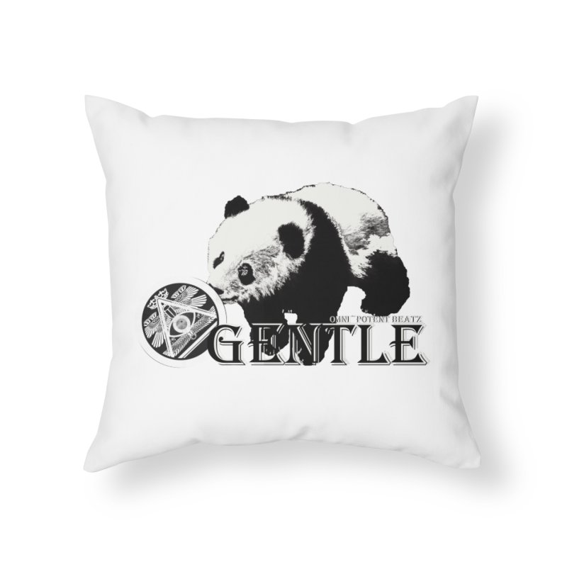 The Gentle in Throw Pillow by OmniPotentBeatz's Shop