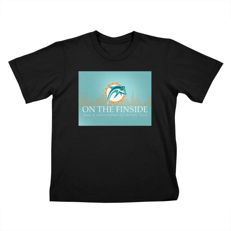 Dragon Scale DolFan Kids T-Shirt by OnTheFinSide's Artist Shop