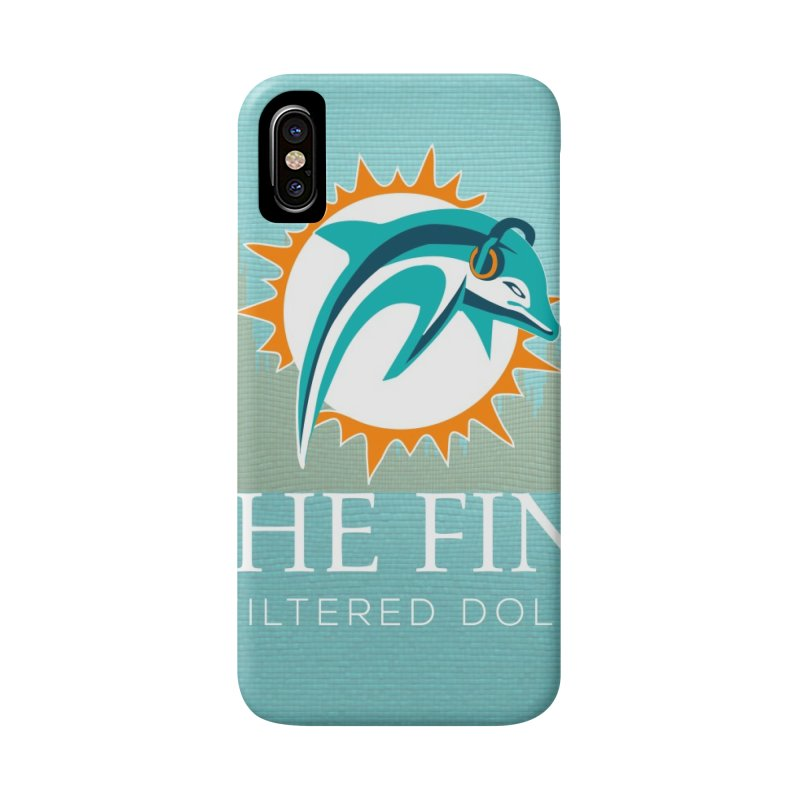 Dragon Scale DolFan in iPhone X / XS Phone Case Slim by On The Fin Side's Artist Shop