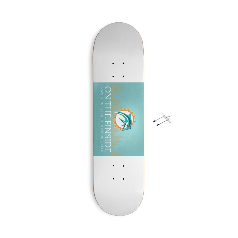 Dragon Scale DolFan Accessories With Hanging Hardware Skateboard by On The Fin Side's Artist Shop