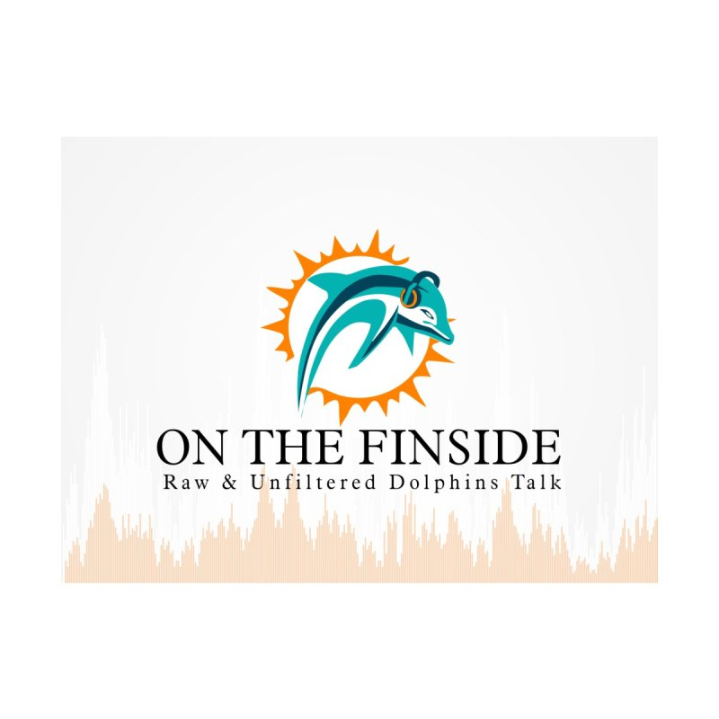 "White Logo - Equalizer ""Fire"" by On The Fin Side's Artist Shop"