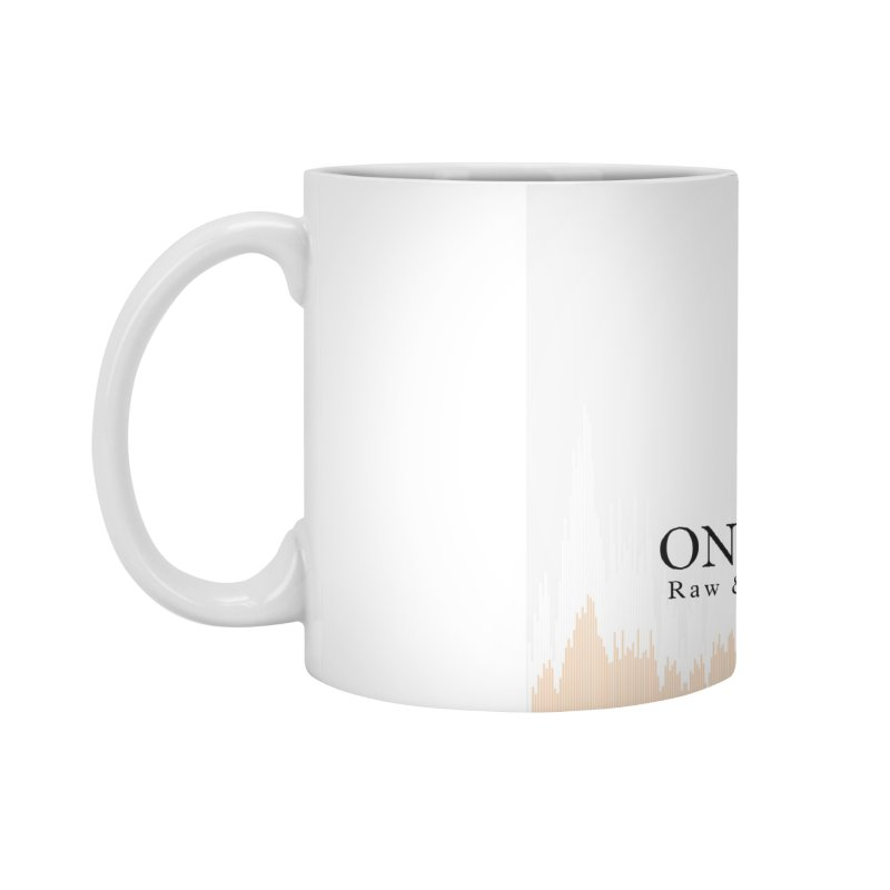 "White Logo - Equalizer ""Fire"" Accessories Mug by On The Fin Side's Artist Shop"