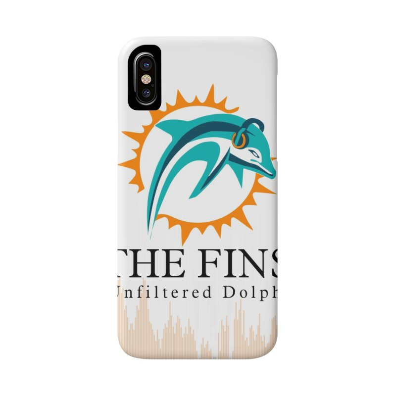 "White Logo - Equalizer ""Fire"" Accessories Phone Case by On The Fin Side's Artist Shop"