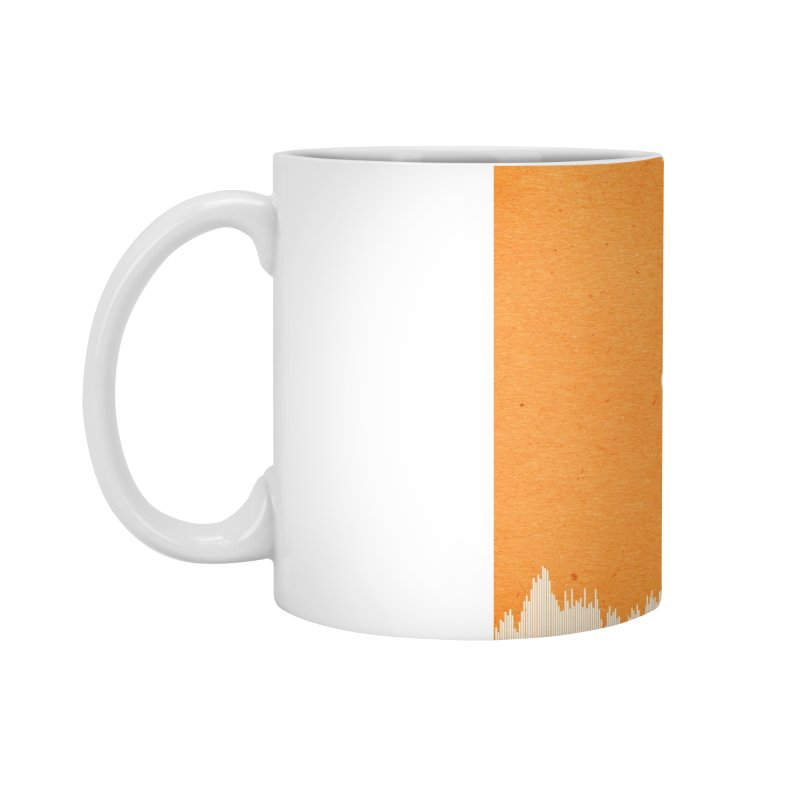 White Bullet, Orange Bowl Accessories Mug by On The Fin Side's Artist Shop
