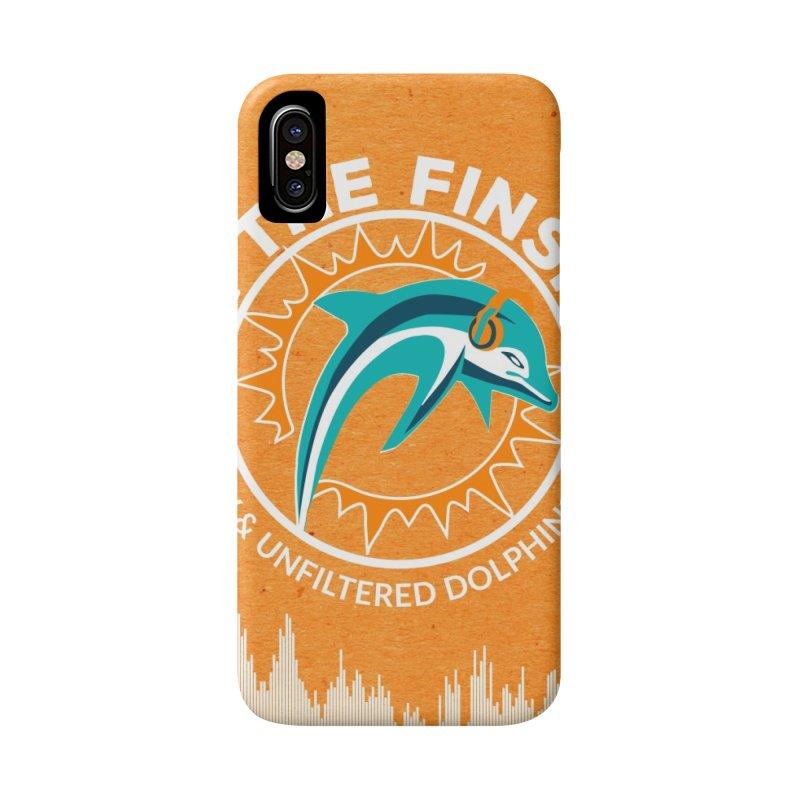 White Bullet, Orange Bowl Accessories Phone Case by OnTheFinSide's Artist Shop