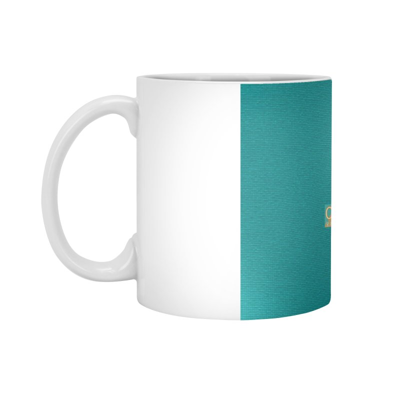 Glow Teal - Alt Accessories Standard Mug by On The Fin Side's Artist Shop