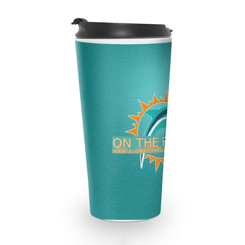 Glow Teal - Alt Accessories Travel Mug by On The Fin Side's Artist Shop