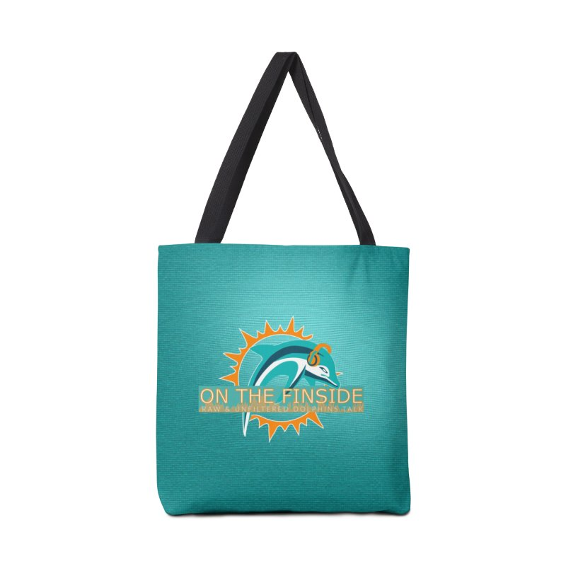 Glow Teal - Alt Accessories Tote Bag Bag by On The Fin Side's Artist Shop