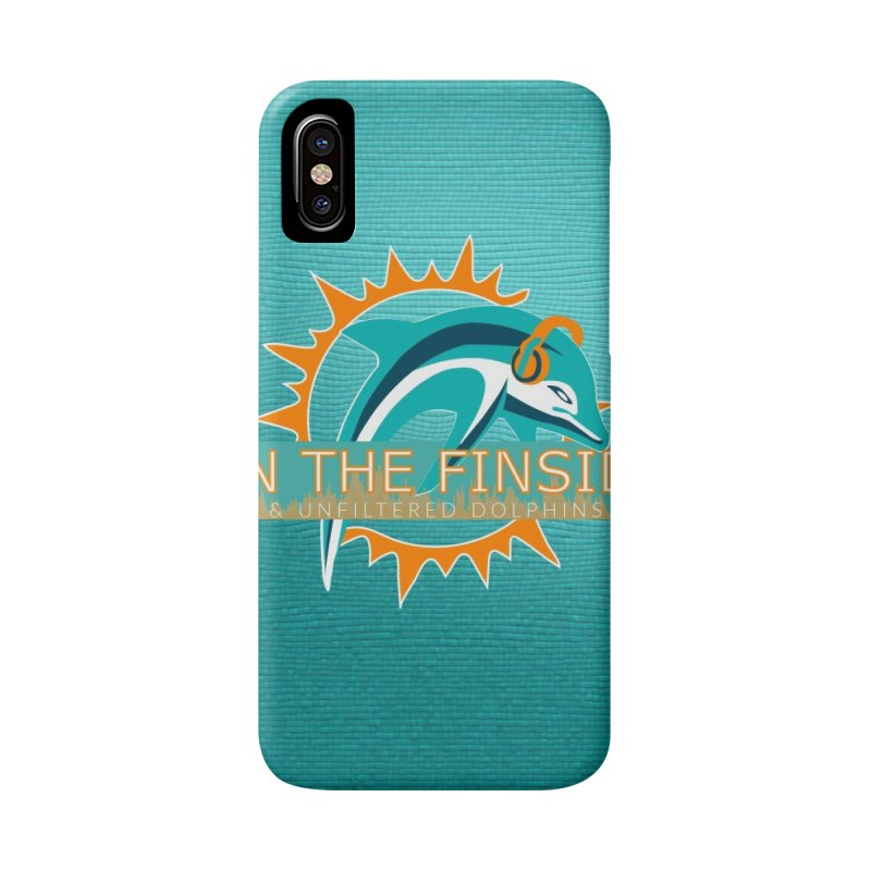 Glow Teal - Alt Accessories Phone Case by On The Fin Side's Artist Shop