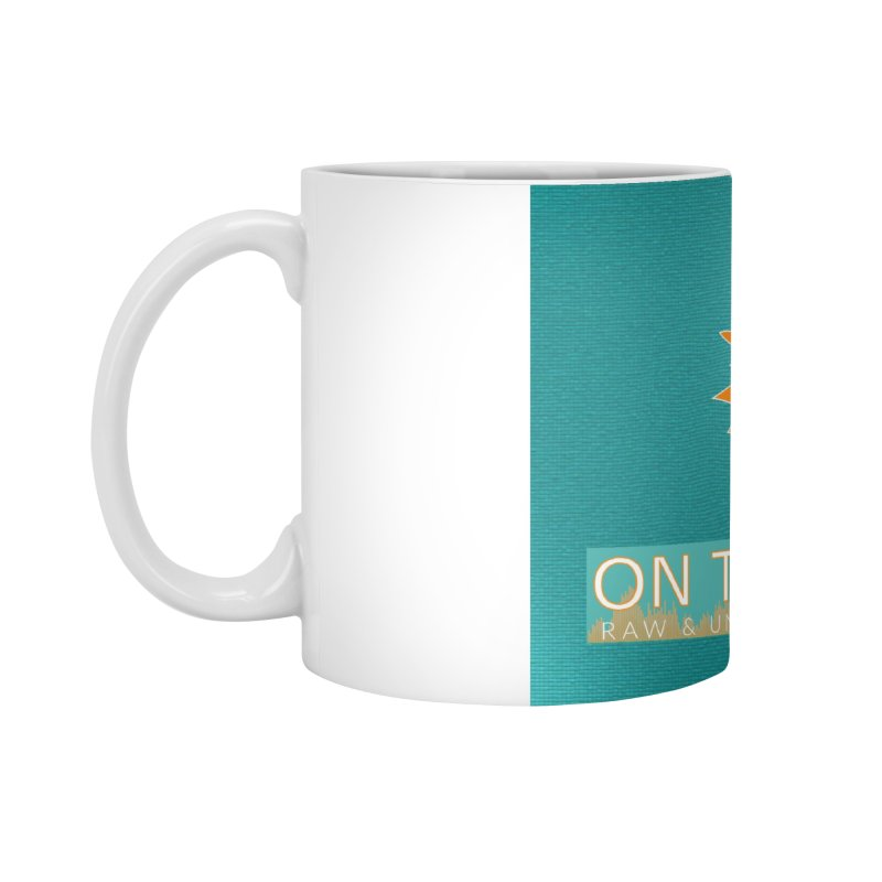 FinSide Teal Glow Accessories Standard Mug by On The Fin Side's Artist Shop