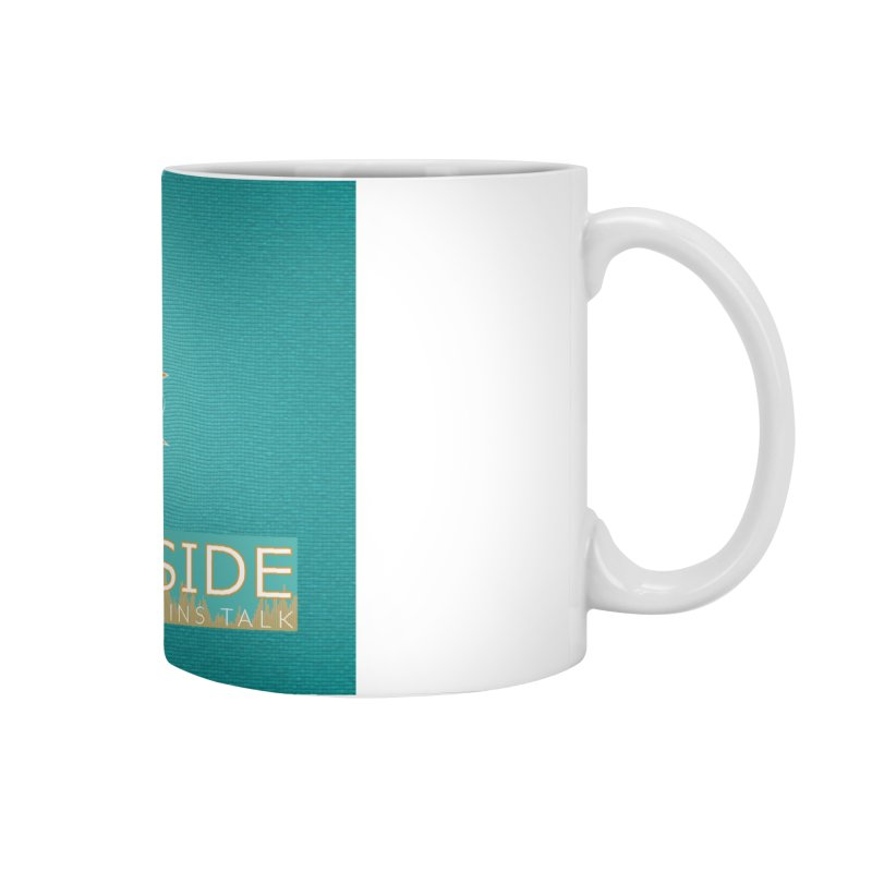 FinSide Teal Glow Accessories Mug by On The Fin Side's Artist Shop
