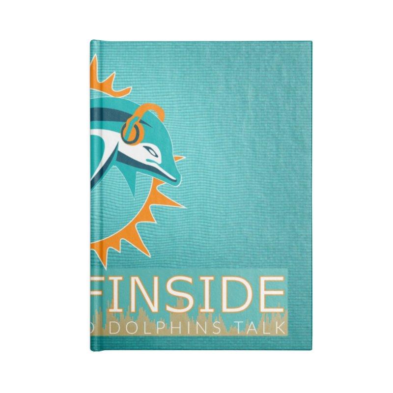 FinSide Teal Glow Accessories Notebook by OnTheFinSide's Artist Shop