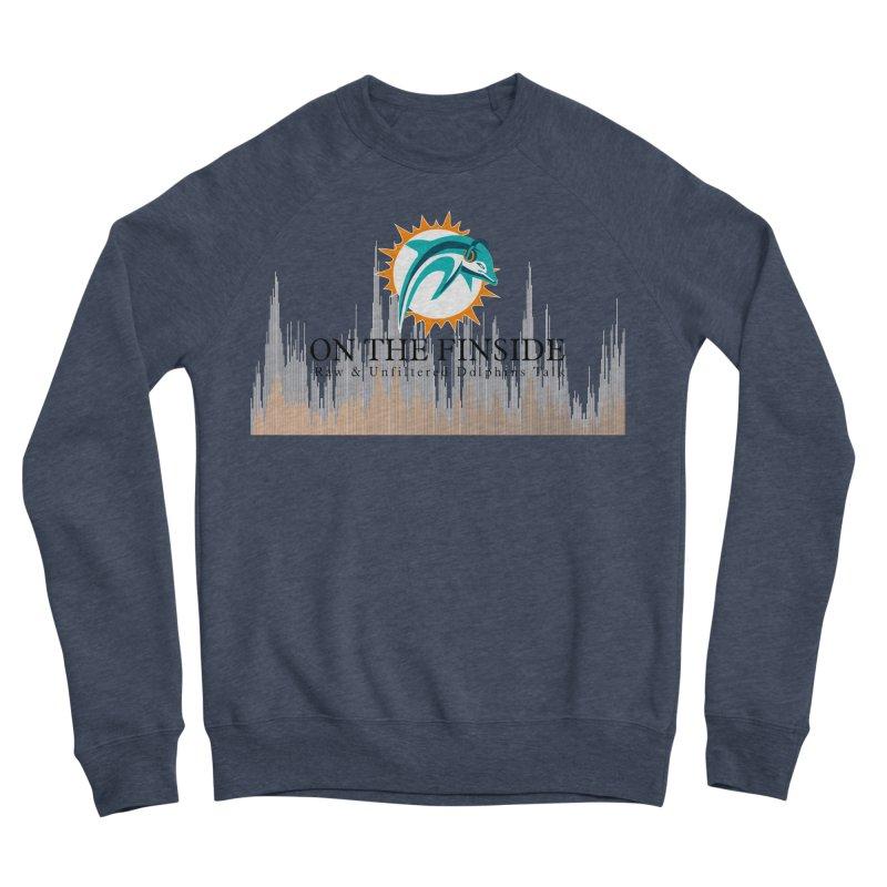 Blazing DolFan Men's Sweatshirt by On The Fin Side's Artist Shop