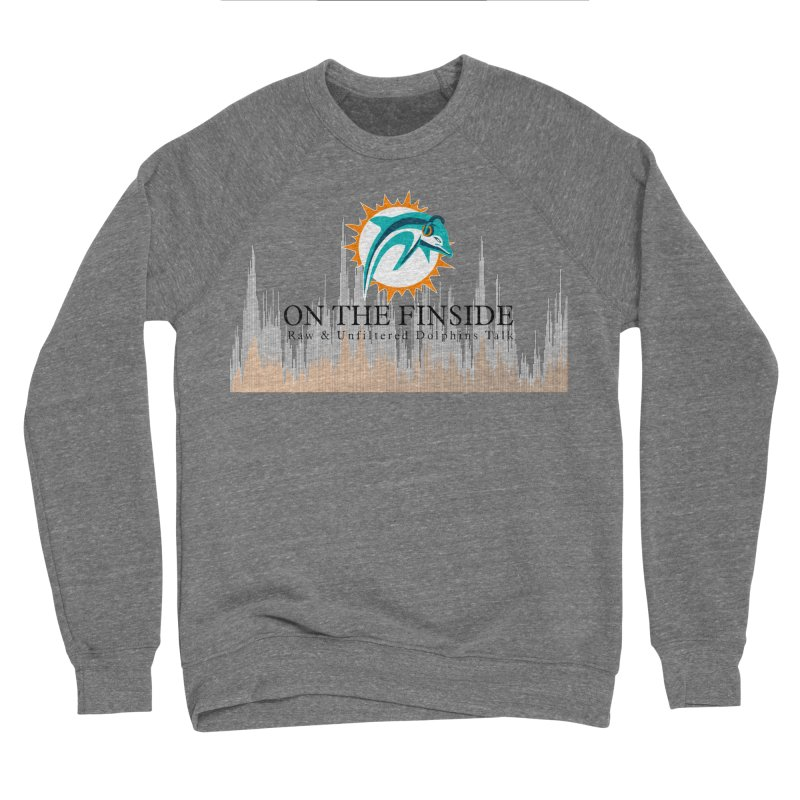 Blazing DolFan Men's Sweatshirt by On The Fin Side's Artist Shop
