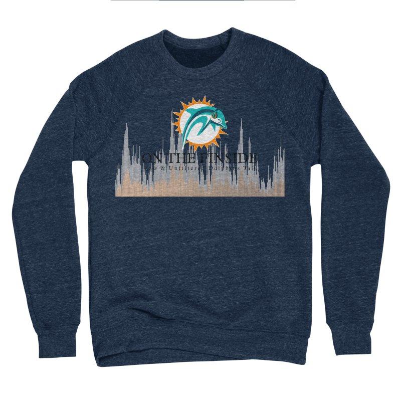 Blazing DolFan Men's Sponge Fleece Sweatshirt by OnTheFinSide's Artist Shop