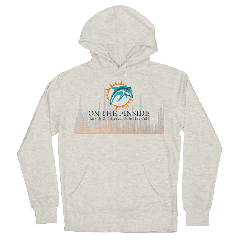 Blazing DolFan Men's Pullover Hoody by On The Fin Side's Artist Shop