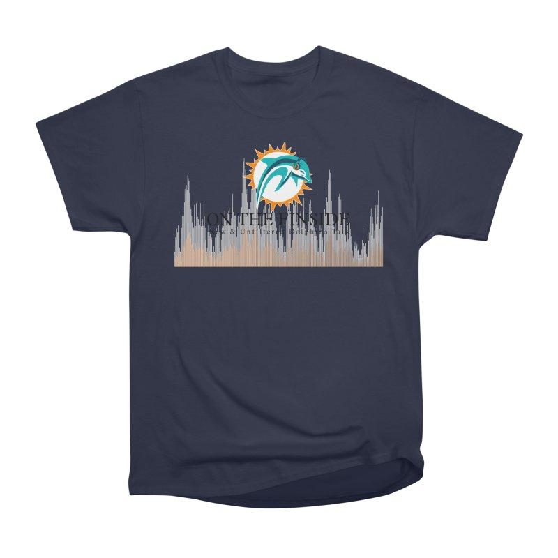 Blazing DolFan Men's T-Shirt by On The Fin Side's Artist Shop