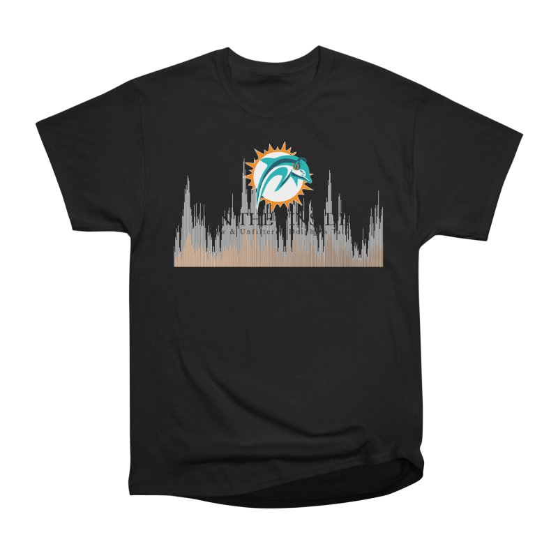 Blazing DolFan Men's T-Shirt by On The Fin Side's Artist Shop