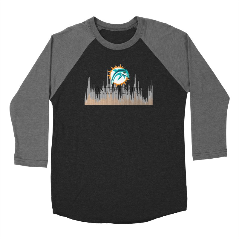 Blazing DolFan Men's Longsleeve T-Shirt by On The Fin Side's Artist Shop