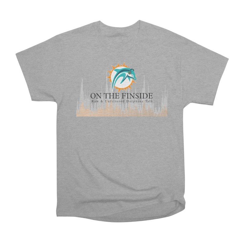 Blazing DolFan Men's Heavyweight T-Shirt by On The Fin Side's Artist Shop