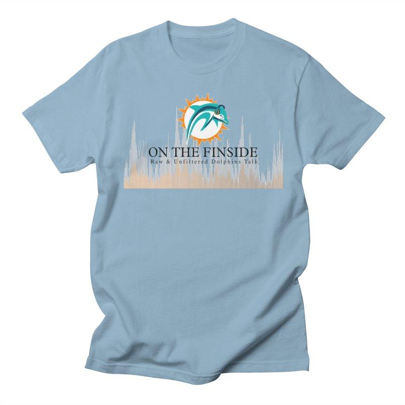 Blazing DolFan Women's Regular Unisex T-Shirt by On The Fin Side's Artist Shop