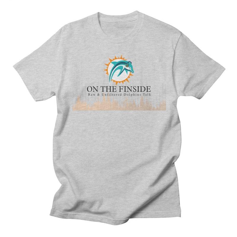 Blazing DolFan Women's T-Shirt by On The Fin Side's Artist Shop