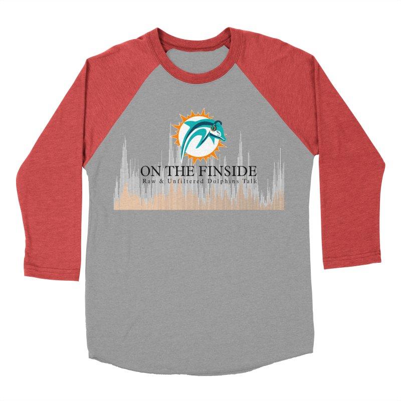 Blazing DolFan Men's Longsleeve T-Shirt by On The Fin Side's Artist Shop