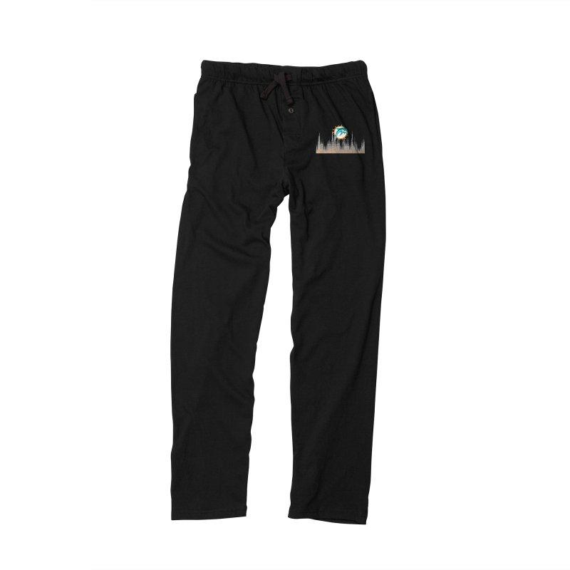 Blazing DolFan  Men's Lounge Pants by OnTheFinSide's Artist Shop
