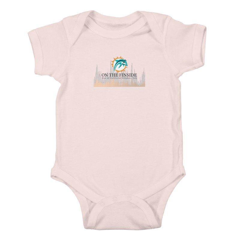 Blazing DolFan  Kids Baby Bodysuit by OnTheFinSide's Artist Shop