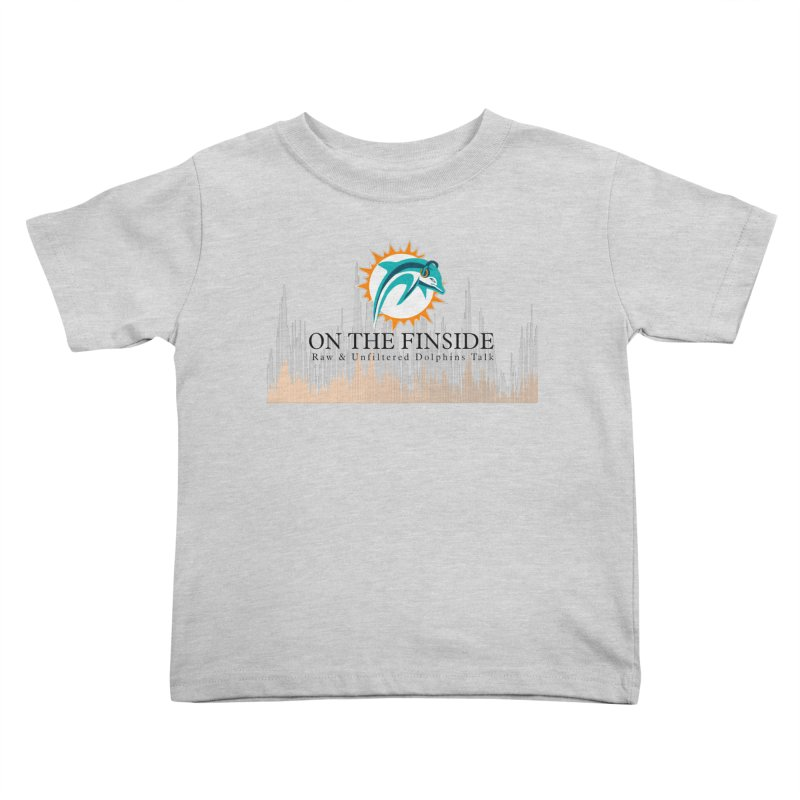 Blazing DolFan  Kids Toddler T-Shirt by OnTheFinSide's Artist Shop