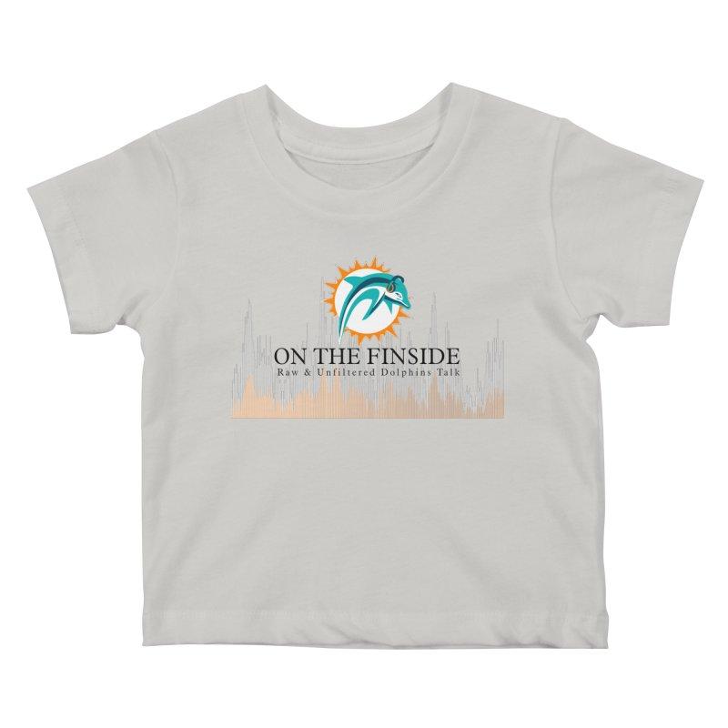 Blazing DolFan  Kids Baby T-Shirt by OnTheFinSide's Artist Shop