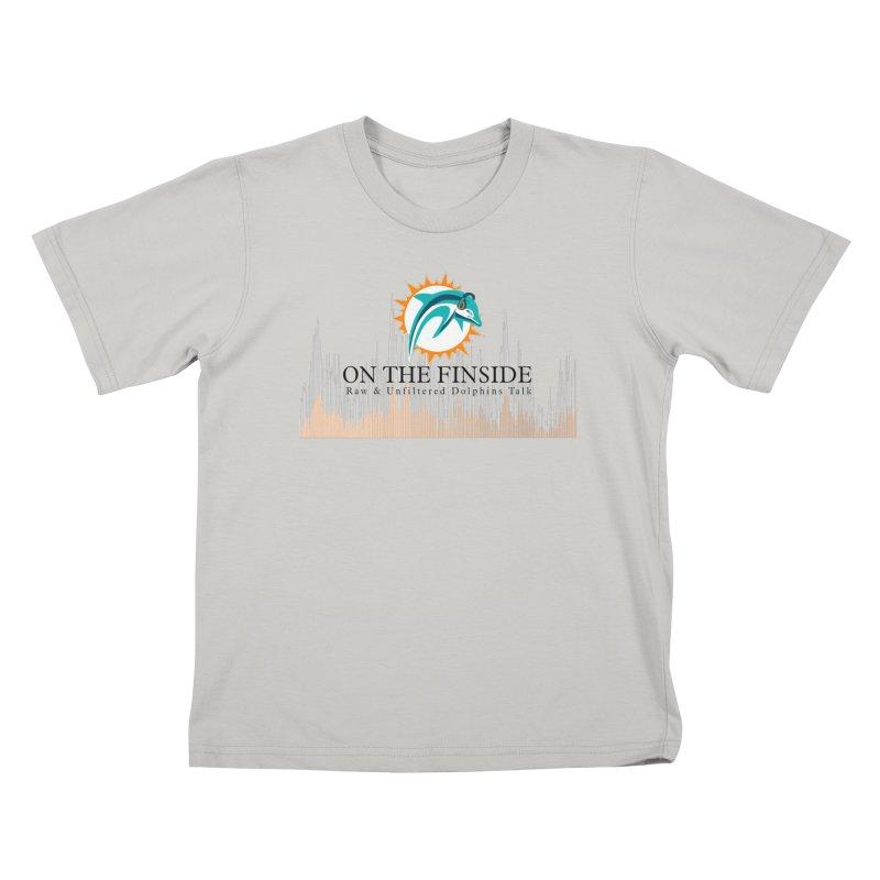 Blazing DolFan  Kids T-Shirt by OnTheFinSide's Artist Shop