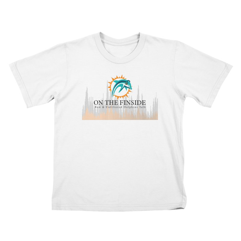 Blazing DolFan Kids T-Shirt by On The Fin Side's Artist Shop