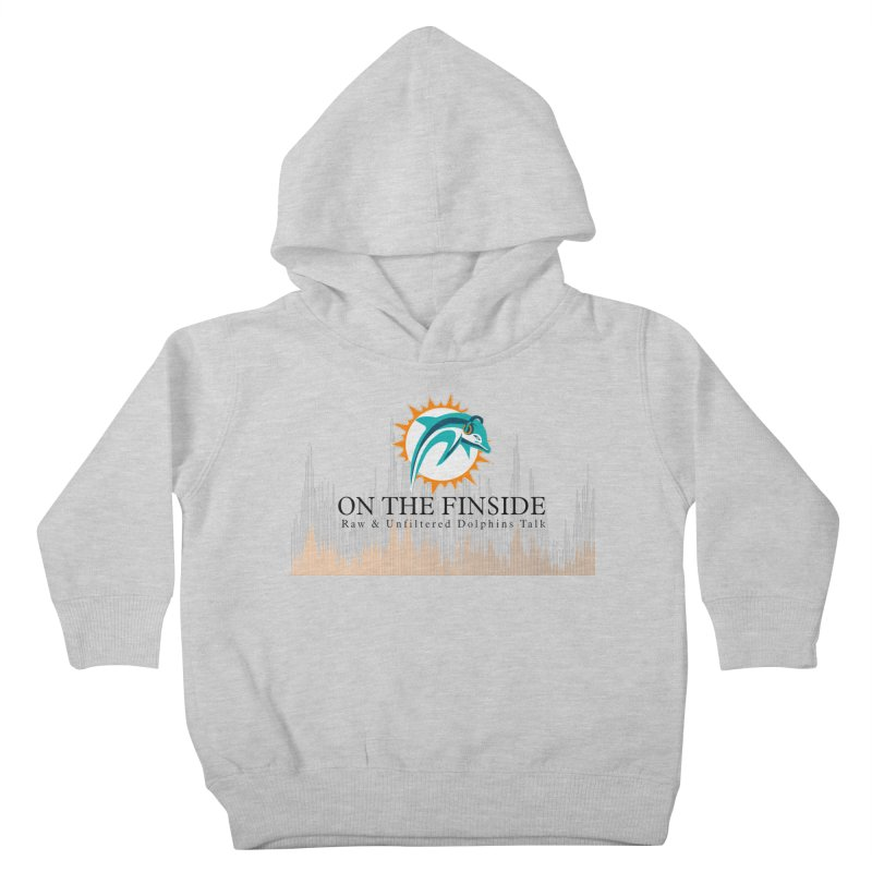 Blazing DolFan Kids Toddler Pullover Hoody by On The Fin Side's Artist Shop