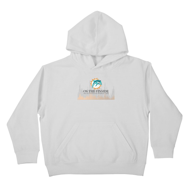 Blazing DolFan Kids Pullover Hoody by On The Fin Side's Artist Shop