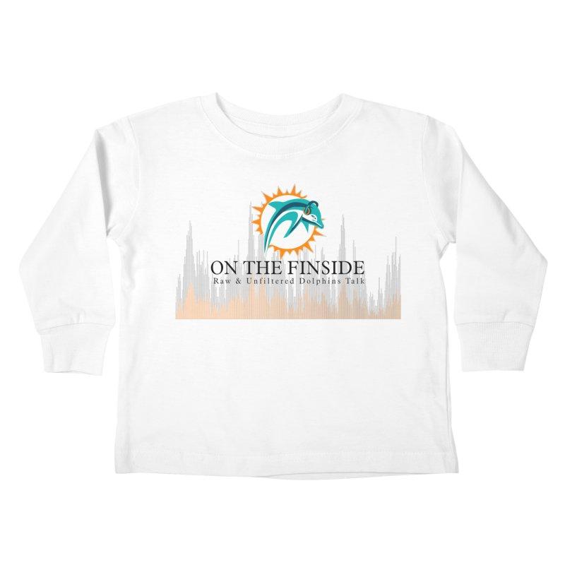 Blazing DolFan Kids Toddler Longsleeve T-Shirt by On The Fin Side's Artist Shop