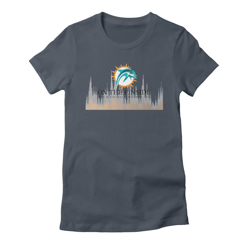 Blazing DolFan Women's T-Shirt by On The Fin Side's Artist Shop