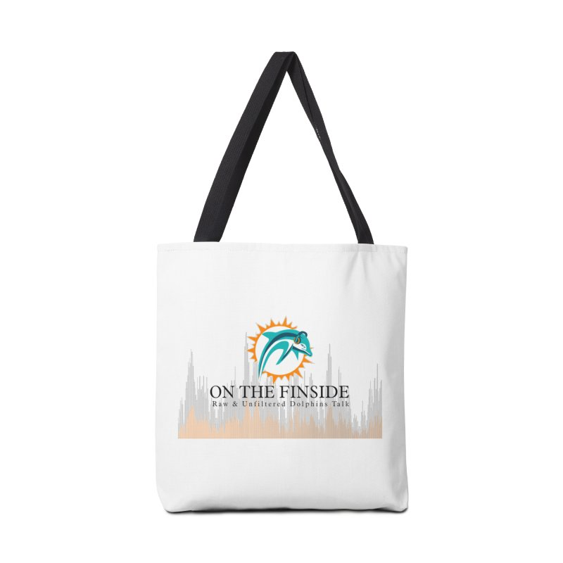 Blazing DolFan Accessories Tote Bag Bag by On The Fin Side's Artist Shop