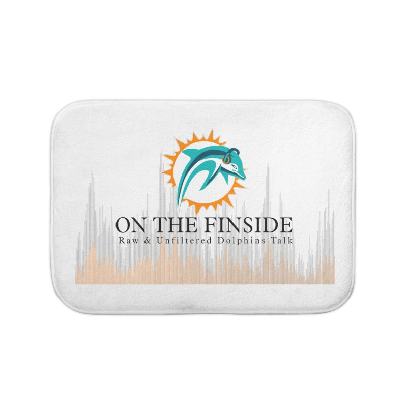 Blazing DolFan Home Bath Mat by OnTheFinSide's Artist Shop