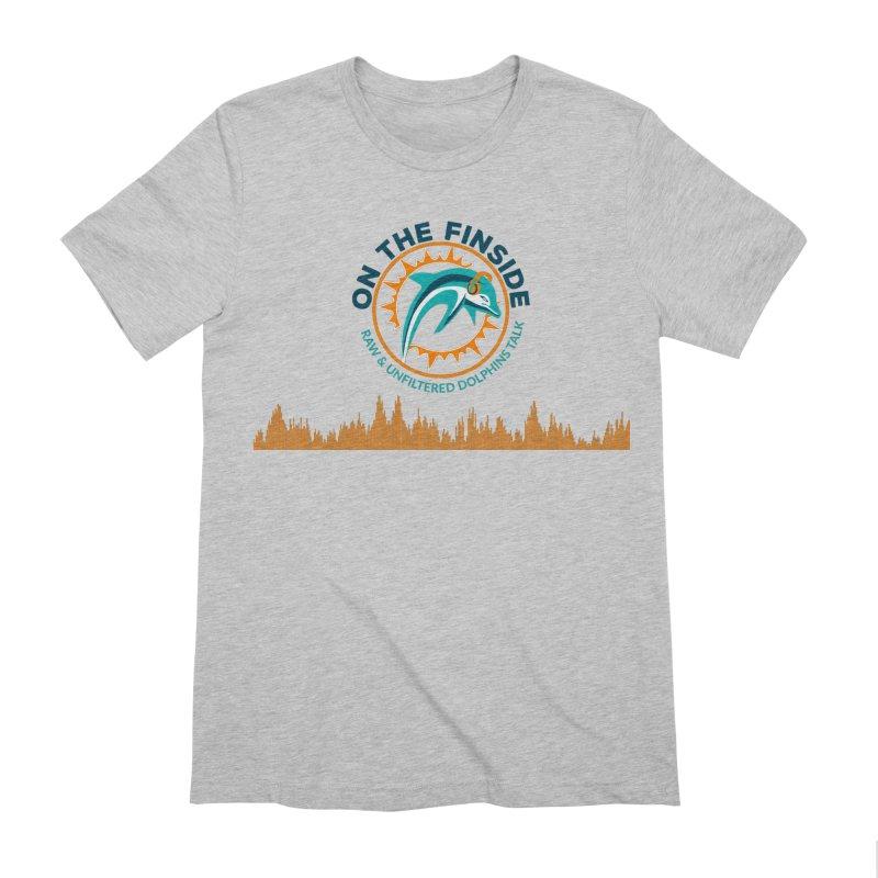 FinSide Bullet Men's Extra Soft T-Shirt by OnTheFinSide's Artist Shop