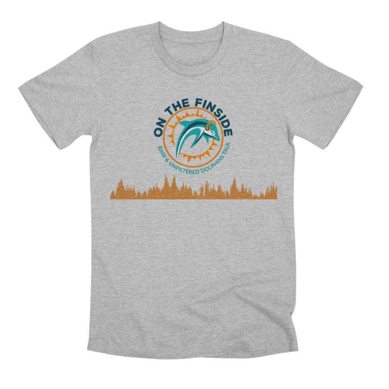 FinSide Bullet Men's Premium T-Shirt by On The Fin Side's Artist Shop