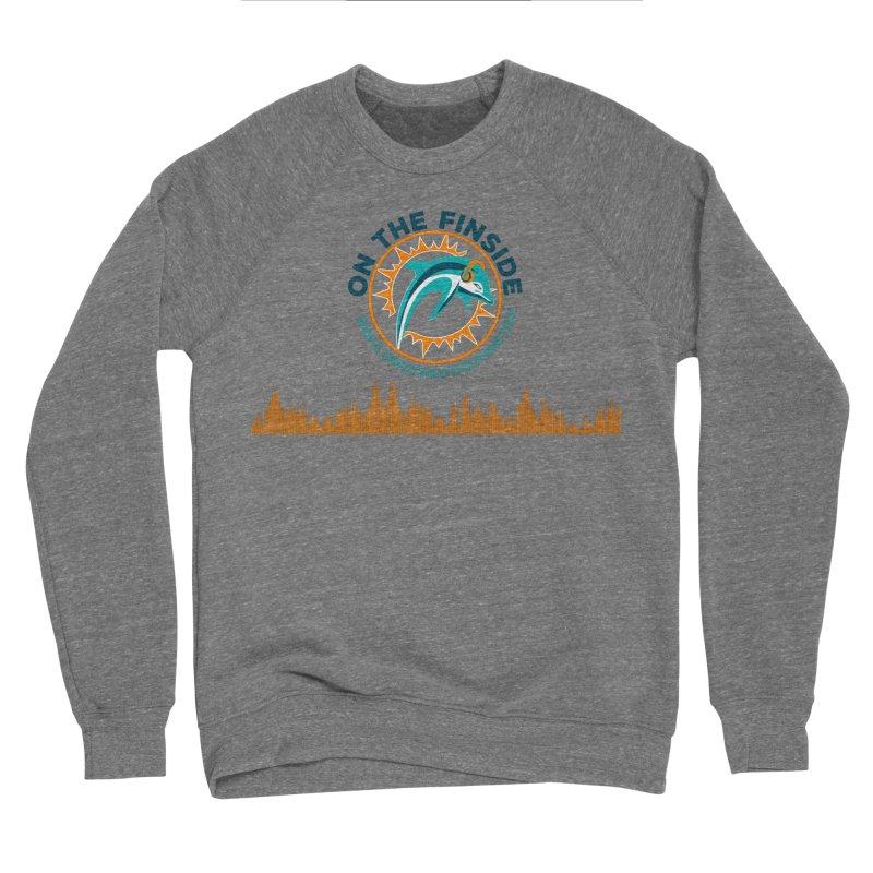 FinSide Bullet Men's Sponge Fleece Sweatshirt by On The Fin Side's Artist Shop