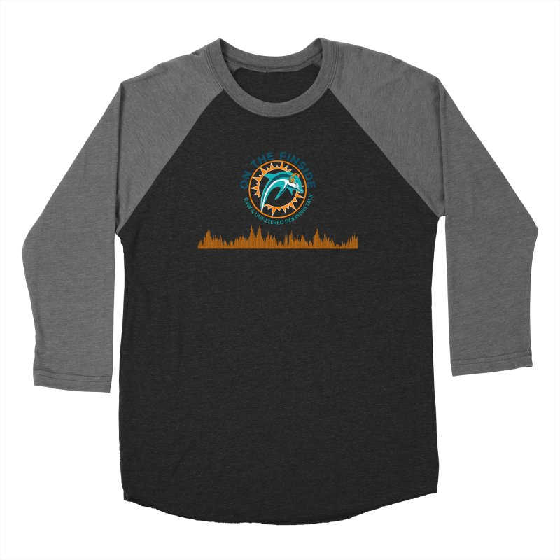 FinSide Bullet Men's Baseball Triblend Longsleeve T-Shirt by On The Fin Side's Artist Shop