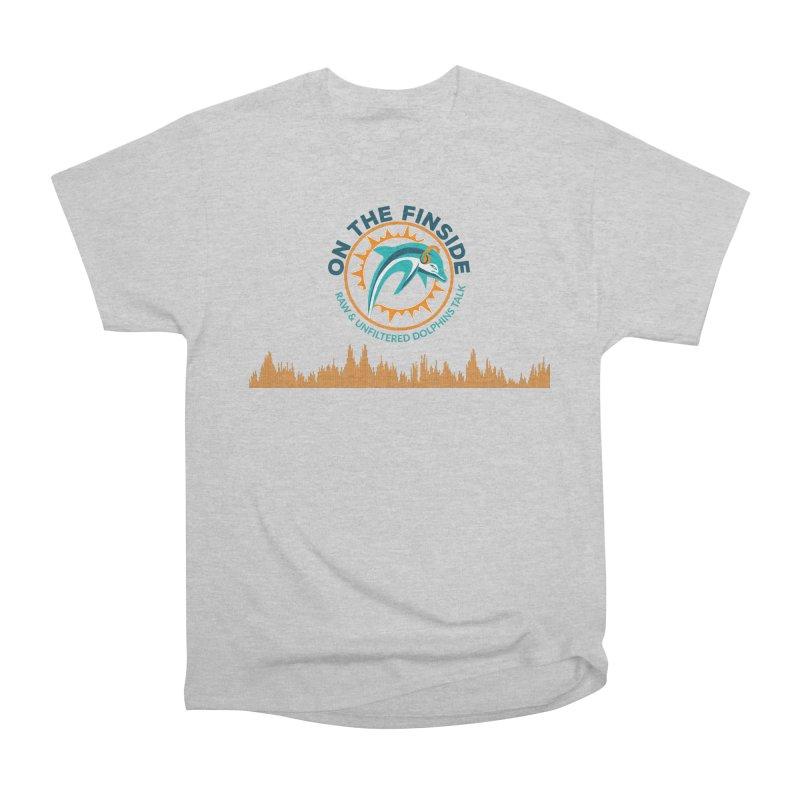 FinSide Bullet Men's Heavyweight T-Shirt by On The Fin Side's Artist Shop