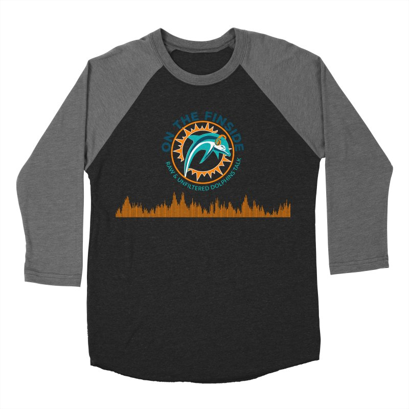 FinSide Bullet Men's Baseball Triblend Longsleeve T-Shirt by OnTheFinSide's Artist Shop