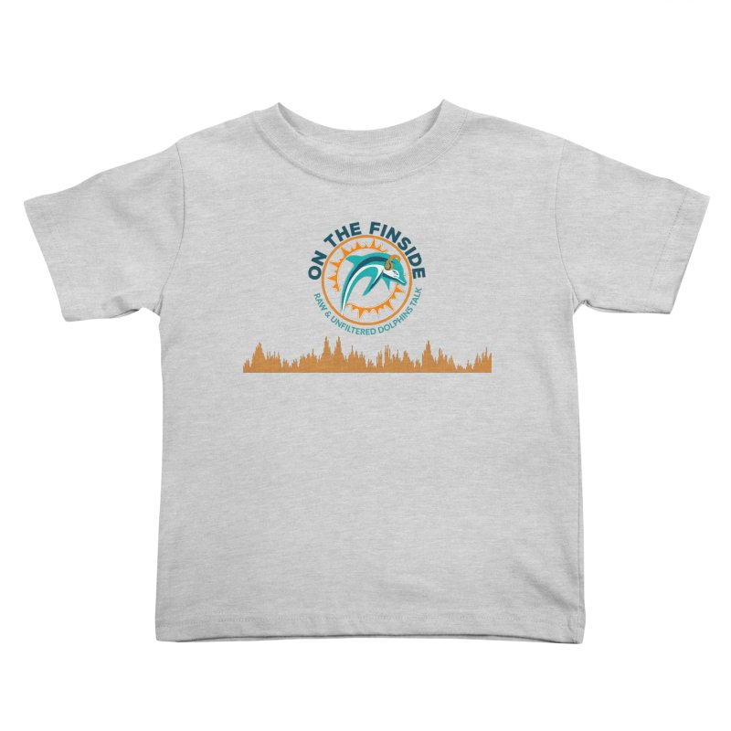 FinSide Bullet Kids Toddler T-Shirt by On The Fin Side's Artist Shop