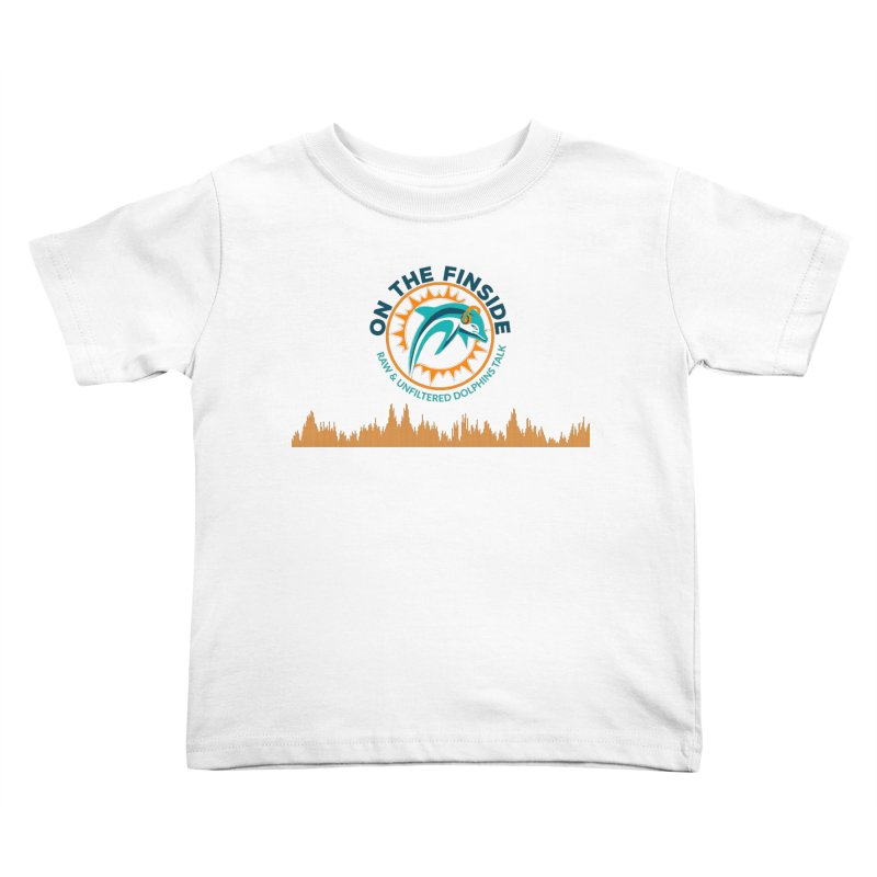 FinSide Bullet Kids Toddler T-Shirt by OnTheFinSide's Artist Shop